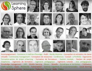 Collectif d'experts en formation multimodale Learning Sphere en 2016